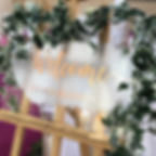 WEDDING SIGNAGE FOR HIRE __ Place our be
