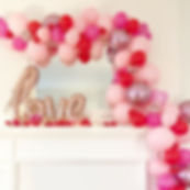 BESPOKE BALLOON GARLANDS __ We offer bal