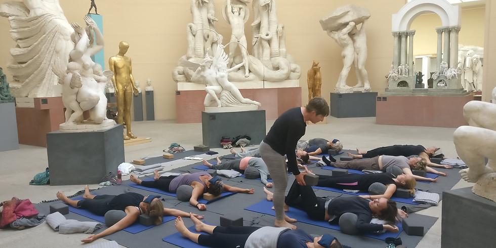 Yoga på Tegners Museum 31/7