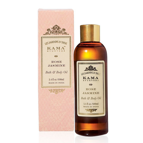 Rose Jasmine Aromatic Natural Bath and Body Oil