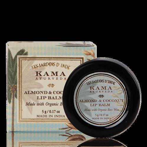 Organic Almond anc Coconut Lip Balm
