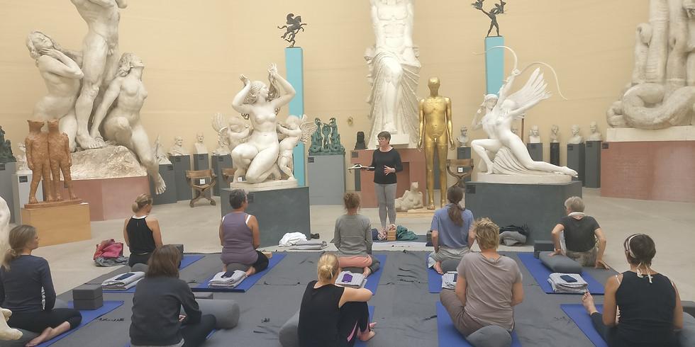 Yoga på Tegners Museum 1.