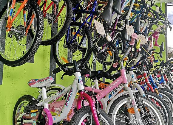 Bicicletas infantiles y BMX varias tallas