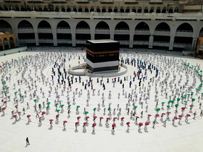 60,000 PEOPLE TO PARTICIPATE IN THE HAJ PILGRIMAGE ON ACCOUNT OF THE PANDEMIC.