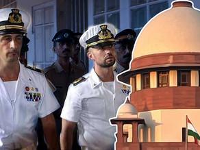 Supreme Court quashes criminal proceedings against the Italian marines in 2012 sea- firing incident.