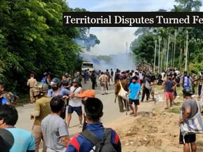 Assam - Mizoram Clashes Over Territorial Disputes Turned Fetal.