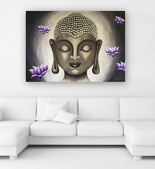 BuddhaLotus17PurpleDesignMelissaBordeaux