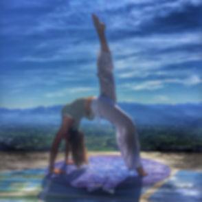 Yoga positon