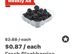 🏃🏃 Great time to Stock up on Fruits this week at HEB! 🏃🏃