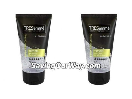 completely FREE Tresemme Hair Gel at Walgreens this Week! See how in my post!