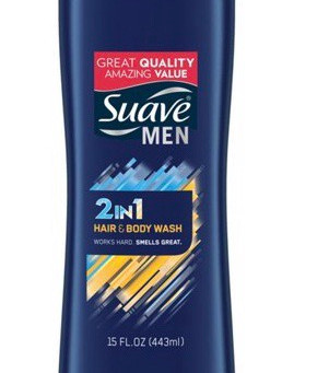 .38 cents Suave Men's Shampoo! It Is Time To Stock Up (Bonus points on Fetch this week)