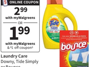 👀Detergent & Colgate toothpaste Deal at Walgreens you will Love!