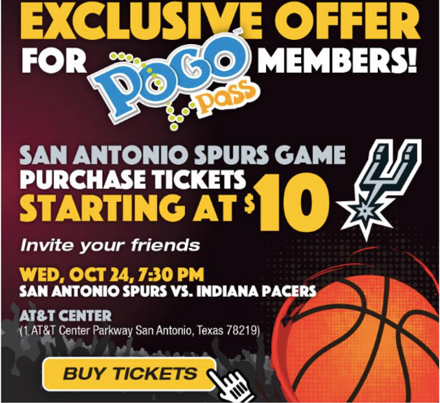 photo about San Antonio Spurs Schedule Printable known as Special Give for PogoP Holders! Couponing Weblogs