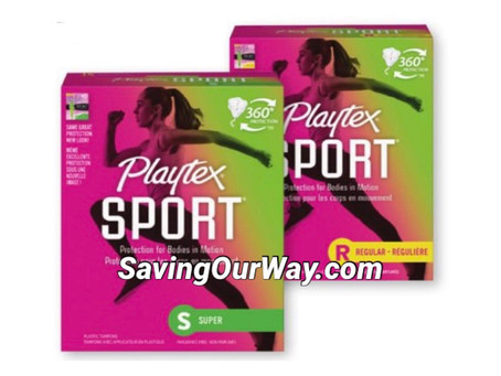 😱75% Savings paying .75 cents for playtex 14ct!