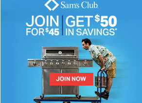 *CLICK HERE* for Details on Joining Sam's Club for $45 and get $50 in Savings!