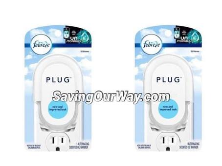 🔥75% Savings on Febreze plug at Walgreens this week!