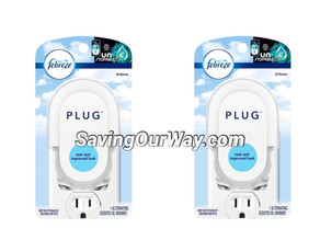 * Pay: 🆓 for (1) Febreze plug at Walgreens this week! *
