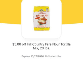 🏃HEB TORTILLA MIX $3 off Digital making this a RUN DEAL🙌 Hurry, check out details by tapping pic!