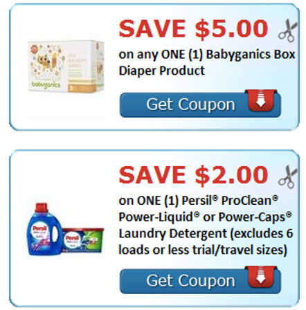 graphic about Persil Printable Coupon identify Printable Coupon Dollars towards Help save upon Babyganics Diapers and
