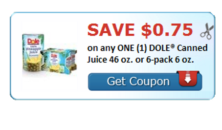 graphic relating to Culturelle Coupon Printable titled Printable Personal savings upon Dole Juice and Culturelle Little one!
