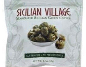 $1.25pk for Village Marinated Green OLives using Digital Coupon! (What a Great Deal!)