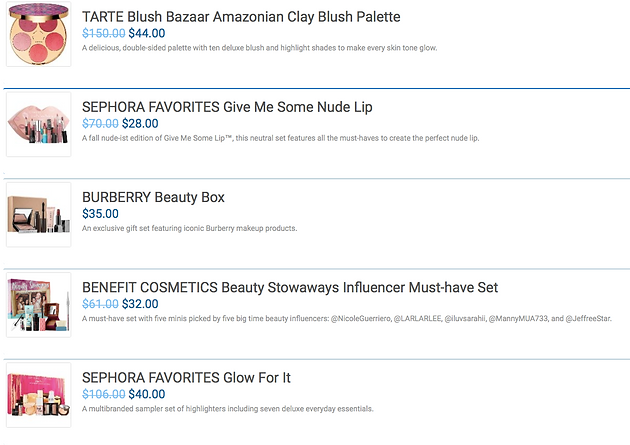 graphic about Sephora Printable Coupons identified as SEPHORA FAVORITES for all Your Family vacation Desires!