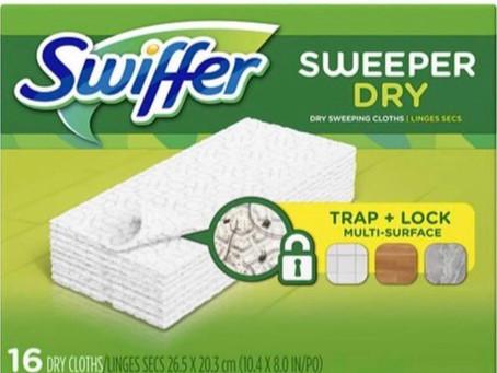 🤑56% savings on Swiffer dry refills!🙌