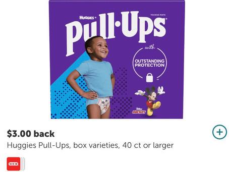 *Save $29 on (Huggies & Pull  Ups)*