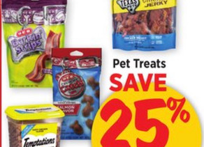 25% off HEB Texas Pets Dog Treats and get FREE Snack bags getting an amazing deal at HEB this week!