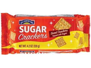 😱75% Savings on HCF Sugar crackers 4.2 oz this week!
