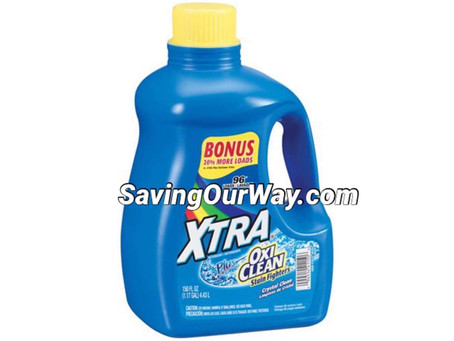 *Xtra Detergent DG Deal at Dollar General this week!*