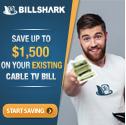 save money on your bills with Billshark.