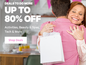 Groupon Deals: Save Up to 80% on Activities, Beauty & Spas, Tech & More