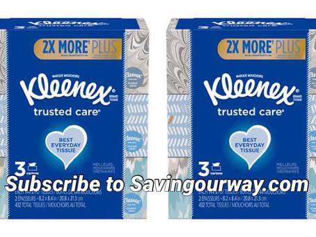 * Kleenex Deal at Walgreens!*