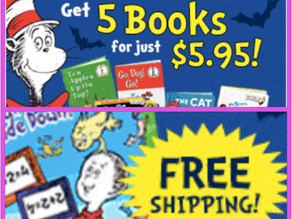 Join Dr. Seuss & His Friends Book Club get 5 Children's Classic Storybooks Plus FREE Dr. Seu