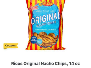 👌 Half off on Rico's Nachos chips paying only .98 cents! Subscribe to savingourway.com