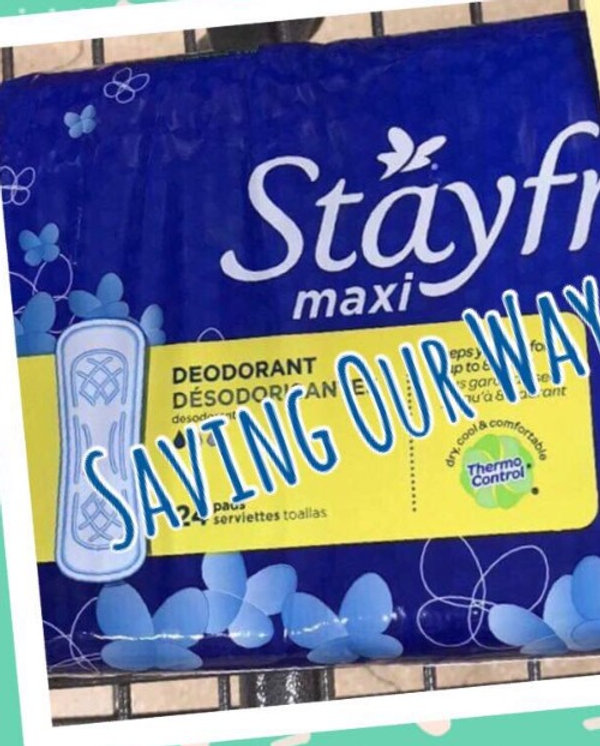 Stayfree Pads only $1 36 @ HEB!
