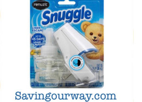 .66 Cents For Snuggle starter kit at HEB this week! Subscribe to savingourway.com to see more deals!