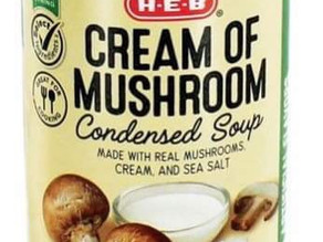 🔥 Free Chicken Cream of Soup at HEB this week!