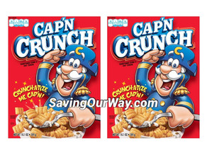 *65% Savings on Captain Crunch Cereal at Dollar General this week!*