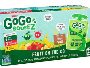 * FREE GOGO Squeeze at HEB THIS WEEK! *