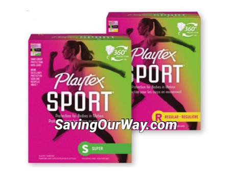 64% Savings on Playtex Tampons this week at Dollar General!