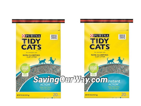 *52% Savings on Tidy Cat litter at Dollar General happening this week!*