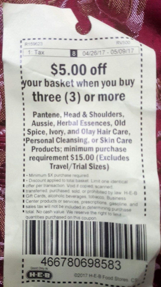 image about Printable Pantene Coupons $5 3 named Pantene hair treatment $1.78 a bottle @ HEB! Couponing Weblogs