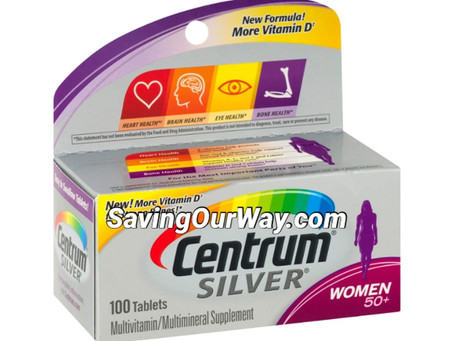 * 85% Savings on Centrum Vitamins at Dollar General this week!*