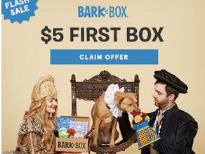 Get your Subscription to BarkBox and Spoil your favorite Pup!  **THIS WEEK ONLY: Get a FREE extra to