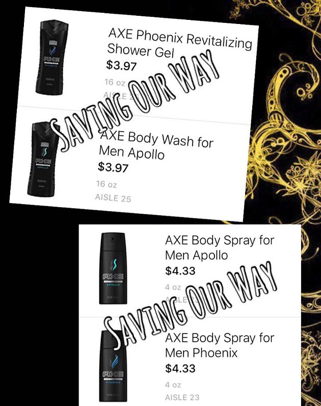 graphic about Just for Men Printable Coupon referred to as Seize Axe Physique Clean and Physique Spray for specifically $0.74 each individual @ HEB