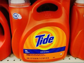😱 Check out (Savings of $23.25 paying only $7.15) for Tide products! Run Deal at HEB!