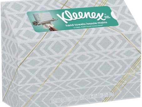 🙌 34% savings on Kleenex hand towels 60 ct this week!
