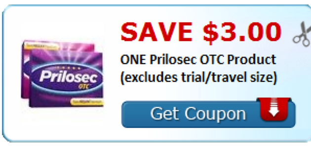 graphic about Prilosec Printable Coupon named 🔥HOT🔥 Printable Coupon of the Working day, Prilosec OTC Help you save $3!!!